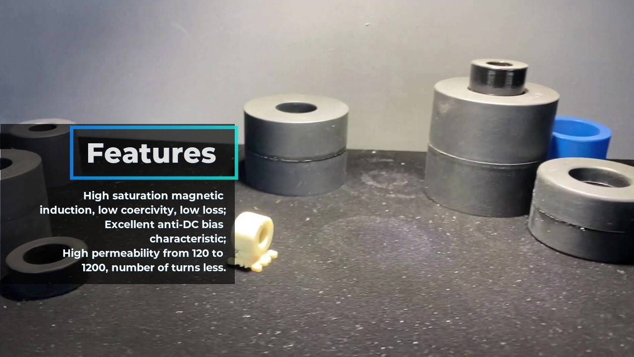 Iron-based Amorphous Filter Inductor Cores