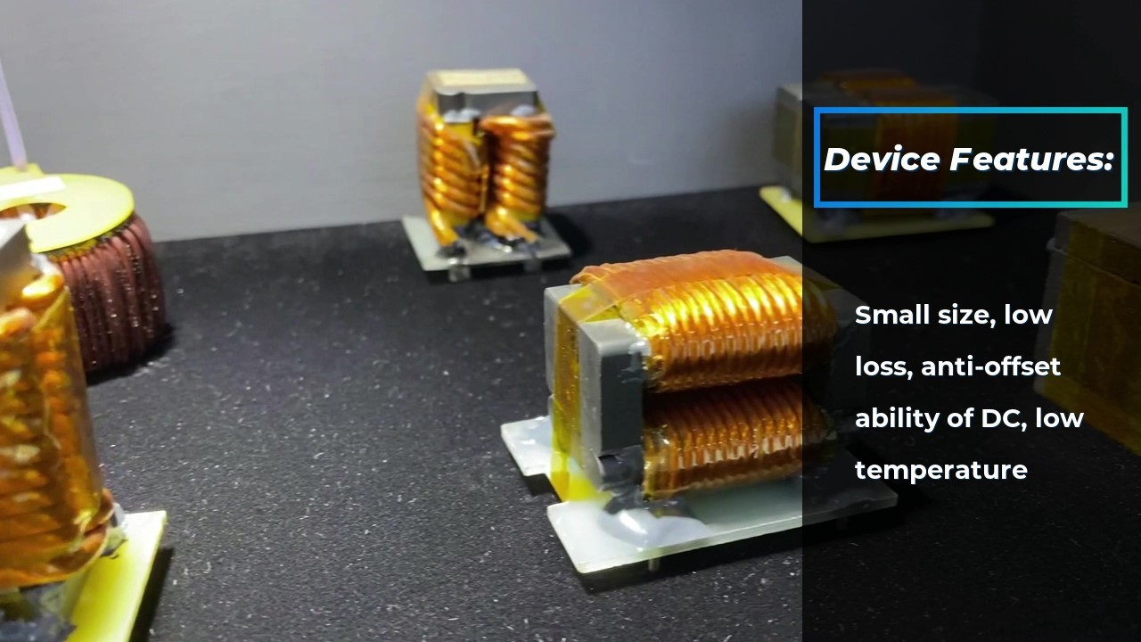 High frequency resonance inductor