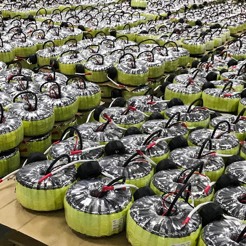 Electric Toroidal Power Transformer Custom Audio Transformers